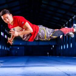 Portrait d'Adriel un jeune sportif.
