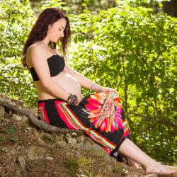 Offrir une séance photo à une future maman.